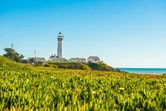 California coast lighthouse Stock Photo