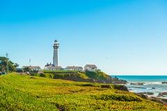 California coast lighthouse Royalty Free Stock Image
