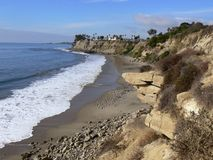 California Coast line Royalty Free Stock Photo