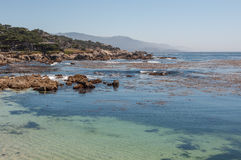 California Coast in Monterey Royalty Free Stock Photography