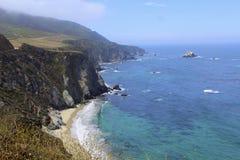 California coast seventeen mile drive Stock Photography