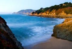 California Coast at sunset Royalty Free Stock Photos