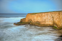 California Coastal Cliff Royalty Free Stock Photos