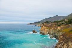California coastal route 1 Royalty Free Stock Photos