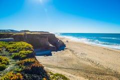 California coastal route 1. Scenic ocean view drive Stock Photography