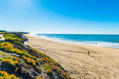 California coastal route 1. Scenic ocean view drive Stock Image