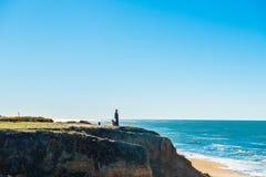 California coastal route 1. Scenic ocean view drive Stock Images