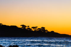 California coastal route 1. Scenic ocean view drive Royalty Free Stock Image