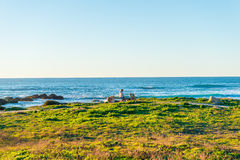 California coastal route 1. Scenic ocean view drive Royalty Free Stock Photography