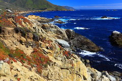 California Coastline Stock Image