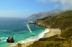 California Coastline Royalty Free Stock Photos