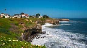 California coast line Royalty Free Stock Photo