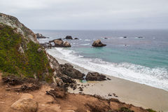 California Coastline near Big Sur Royalty Free Stock Photography