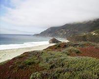 California Coastline during Summer stock photo