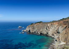 California Coastline, USA Royalty Free Stock Photography