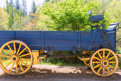 Free California Columbia Carriage In An Old Western Gold Rush Town Stock Photos - 36801173