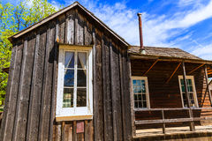 California Columbia a real old Western Gold Rush Town stock photo