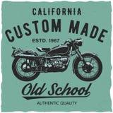 California Custom Made Poster Stock Images