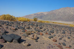 California, Death Valley National Park, The Stone Desert Stock Images