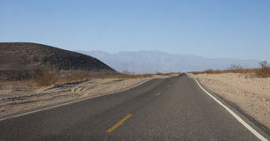California, Death Valley National Park, Stone desert on the Royalty Free Stock Photos