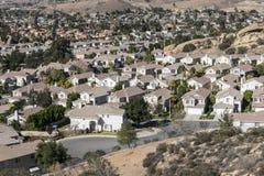 California del sud suburbana Fotografie Stock