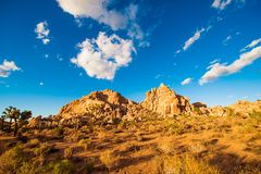 California Desert Landscape Royalty Free Stock Photo