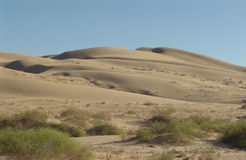 California Desert Sand. Yuma, California desert sand dunes Stock Images