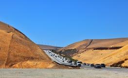 california duży autostrada Zdjęcia Stock