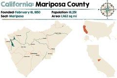 California: El condado de Mariposa libre illustration