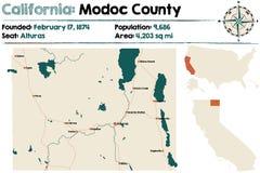 California: El condado de Modoc libre illustration