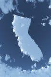 California en nubes Foto de archivo