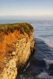 california falezy wybrzeża zmierzch Obrazy Royalty Free