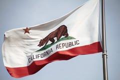 California flag. The great bear on the California flag stock photo