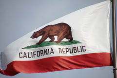 California flag. The great bear on the California flag stock images