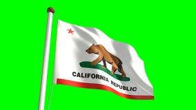 California flag Royalty Free Stock Photo