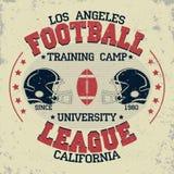 California football vintage, t-shirt graphics Royalty Free Stock Photo