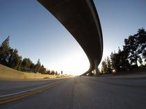 California Freeway Ramp Stock Photo