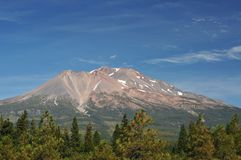 california góry shasta Zdjęcia Stock