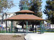 California gazebo Stock Image