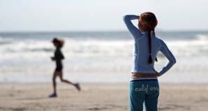 California girl. Girl on the beach Royalty Free Stock Photo