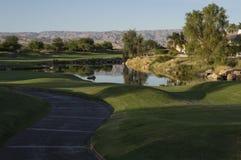 California Golf Course Home Royalty Free Stock Photos