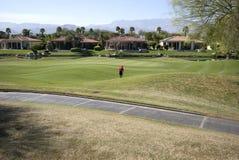 California golf course homes Royalty Free Stock Photos