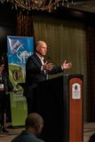 California Governor Edmund G. Brown Jr. speaking at 2016  SEJ Conference 9 Stock Photography