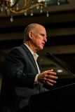 California Governor Edmund G. Brown Jr. speaking at 2016  SEJ Conference 2 Royalty Free Stock Photo