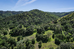 California Green Hills Stock Images