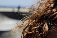 California Hair Breeze royalty free stock photography