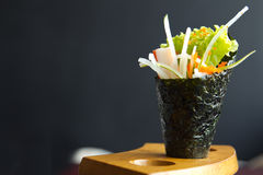 California hand roll Stock Photography