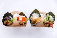 California Hand Roll Sushi Set. Royalty Free Stock Image