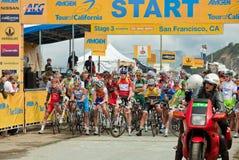 california kolarstwa wycieczka turysyczna Zdjęcie Stock