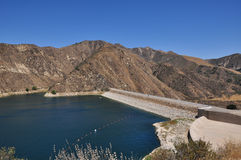 California lake. Beauty blue california green july lake land road summer sunshine Stock Images
